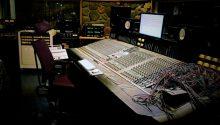 analoginen äänitysstudio