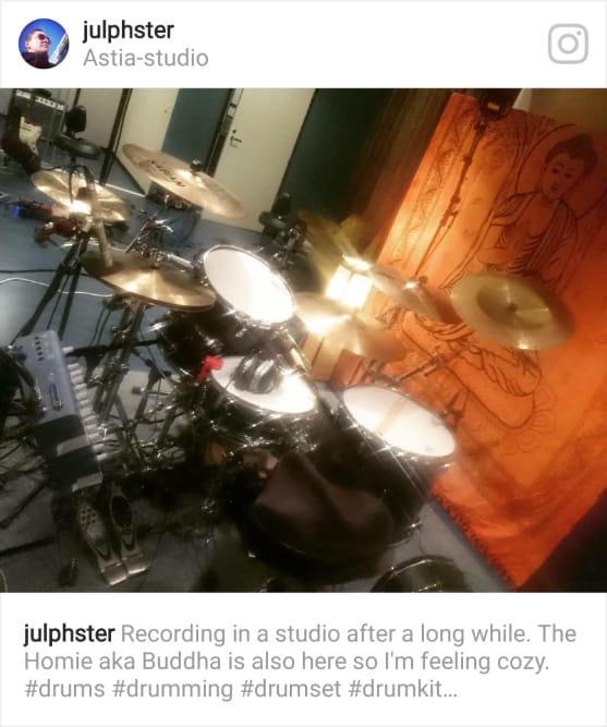Faulty Messenger Juhana Karlsson Astia-studio A drum room