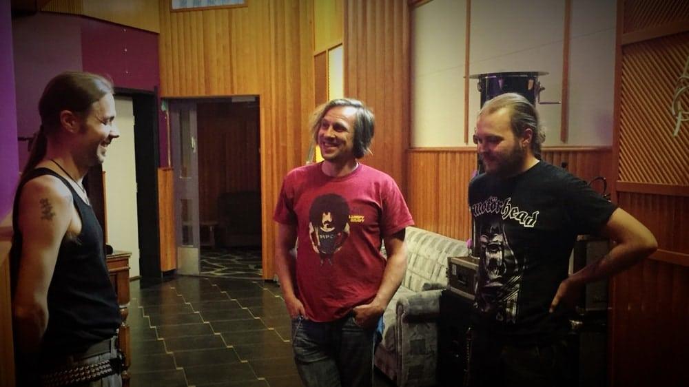 Anssi Kippo, Rami Kinnunen & Pekka Johansson at Astia-studio.