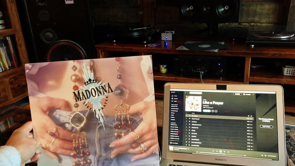 Madonna Like a Prayer on vinyl and on Spotify