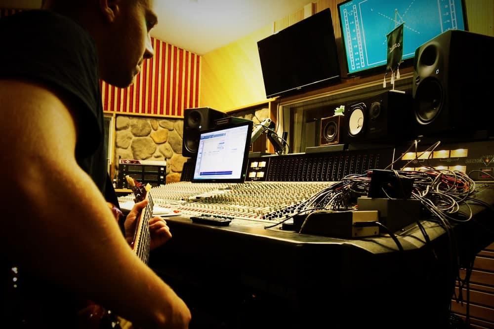 Juho Koski of Spell Of Torment in Astia-studio