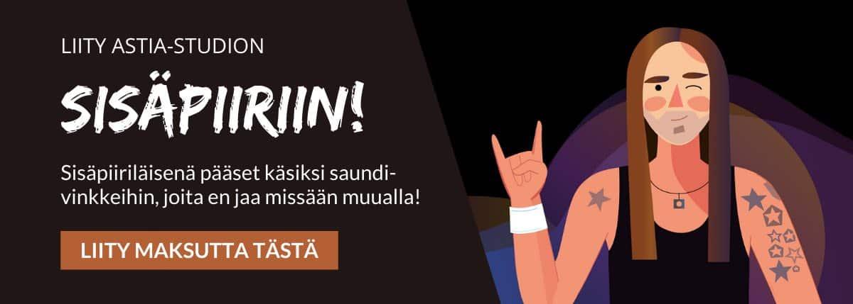 Astia-studio sisäpiiri