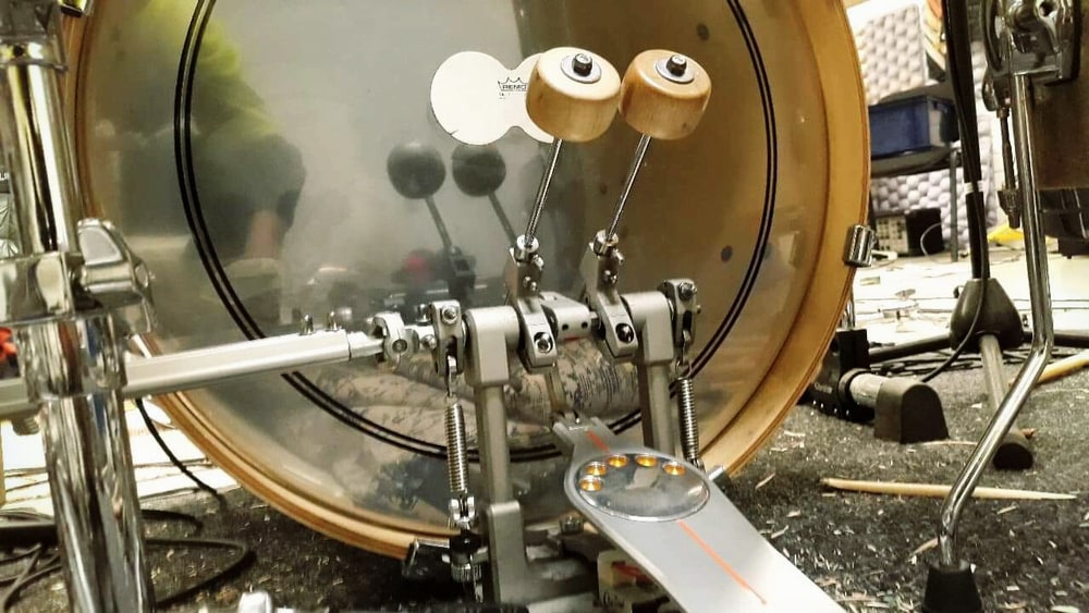 The bass drum beater - Tama Wooden Beater