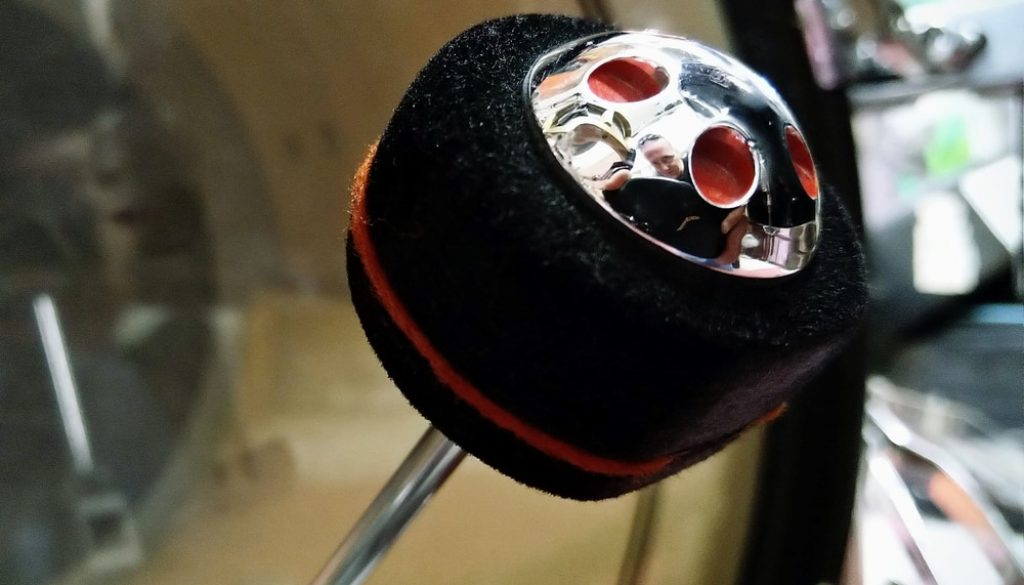 The bass drum beater