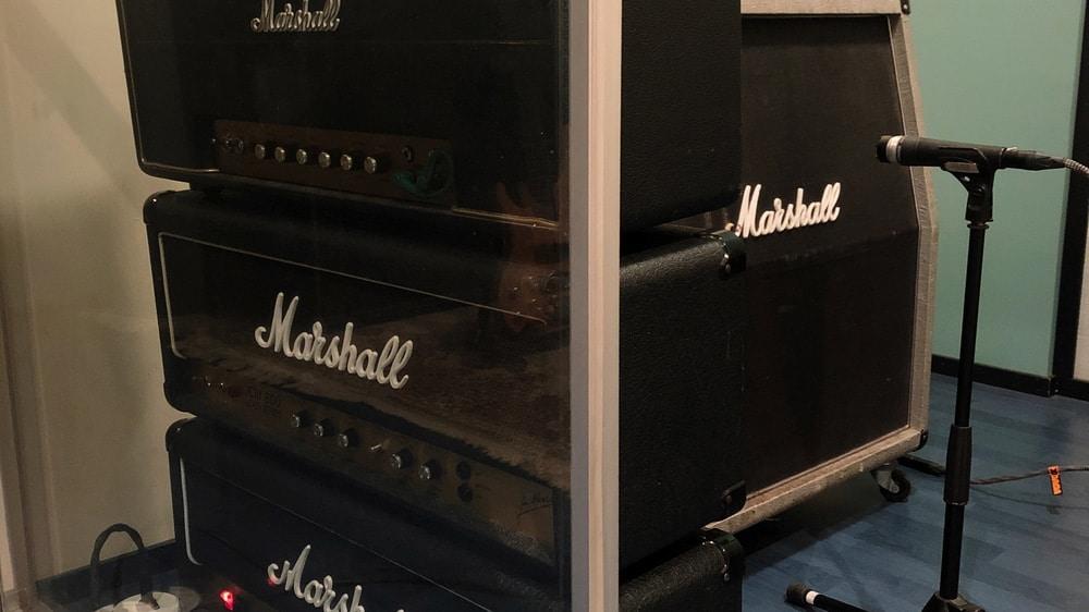 Case study Serpico - Marshall amps