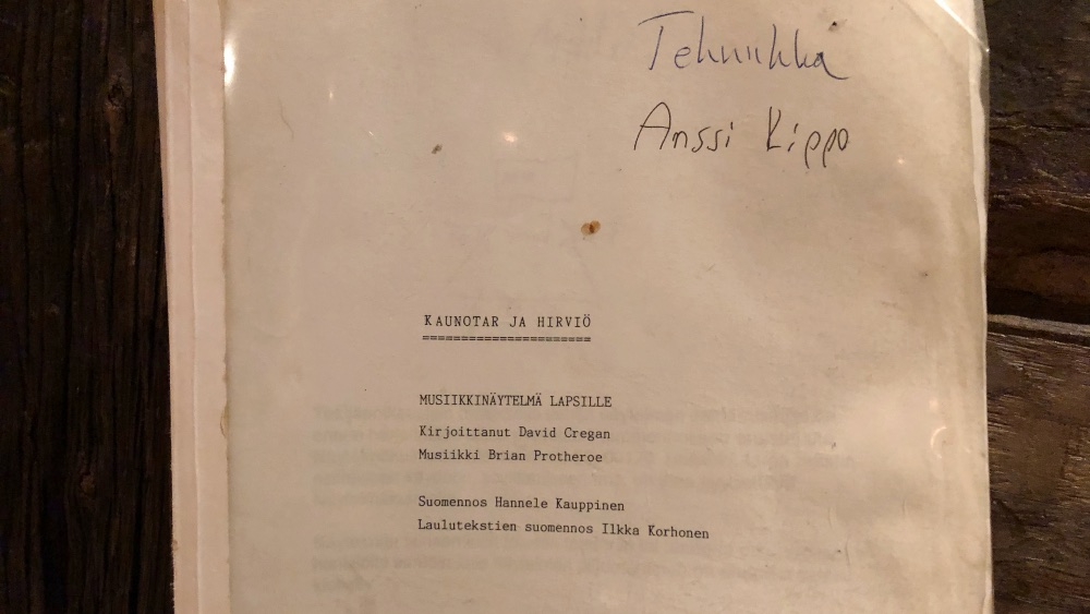 Something Wild –Kaunotar ja hirviö Lappeenrannan kesäteatteri -97