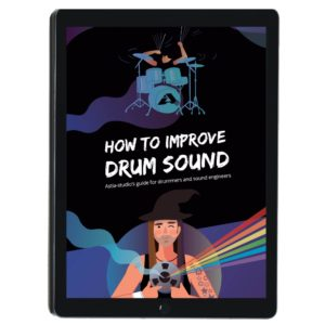 How to improve drum sound cover
