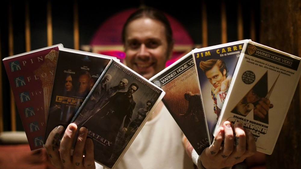 VHS –Anssi Kippo and a fistful of movies