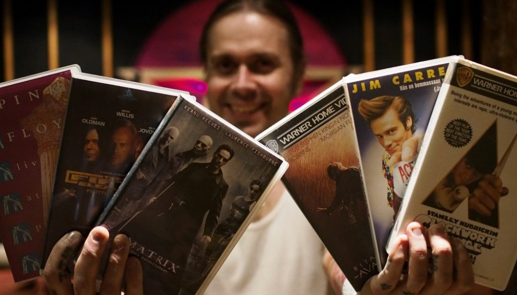 Anssi Kippo and a fistful of VHS films