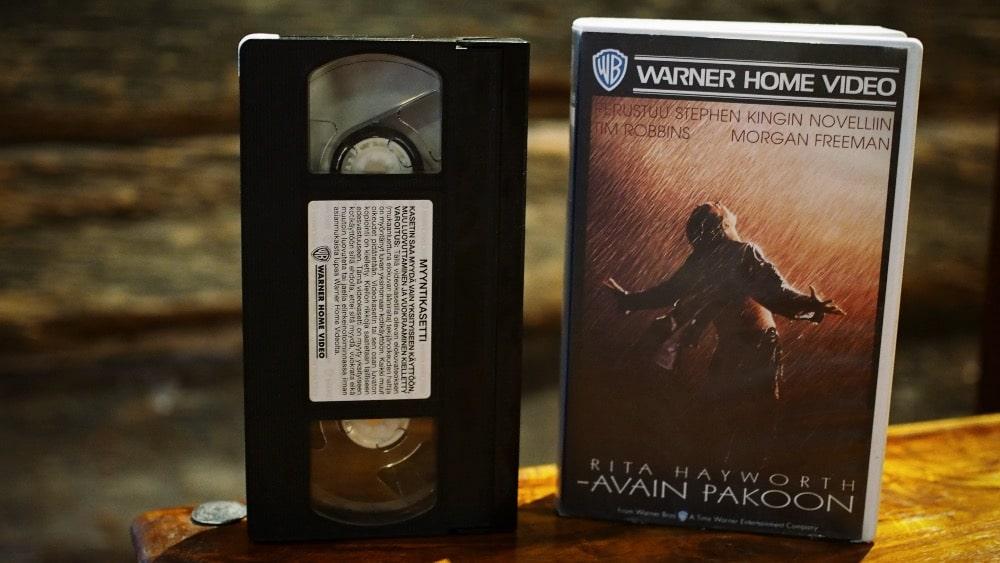 VHS –The Shawshank Redemption