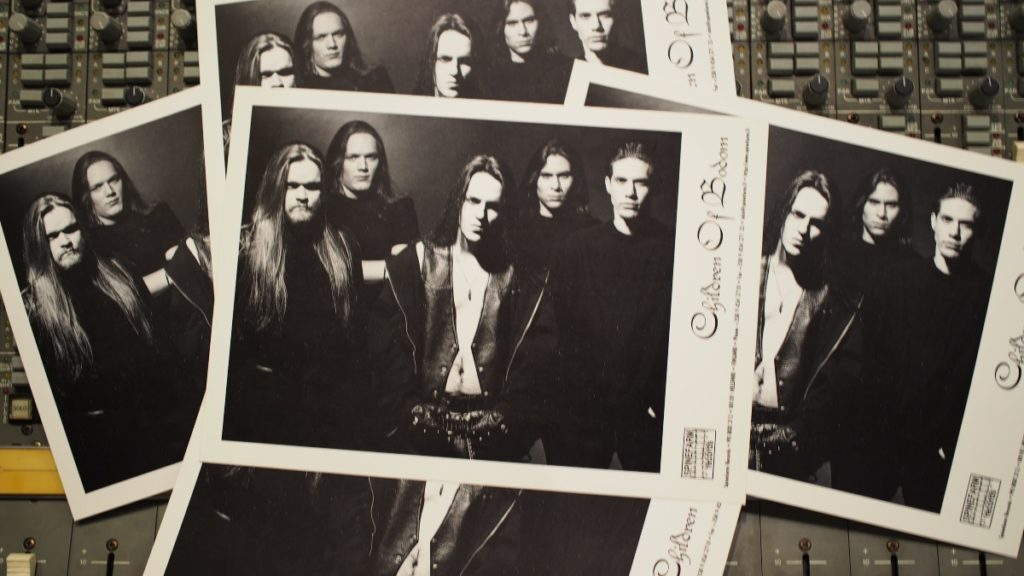 Hatebreeder –Children Of Bodom promo photos from the Astia-studio archive
