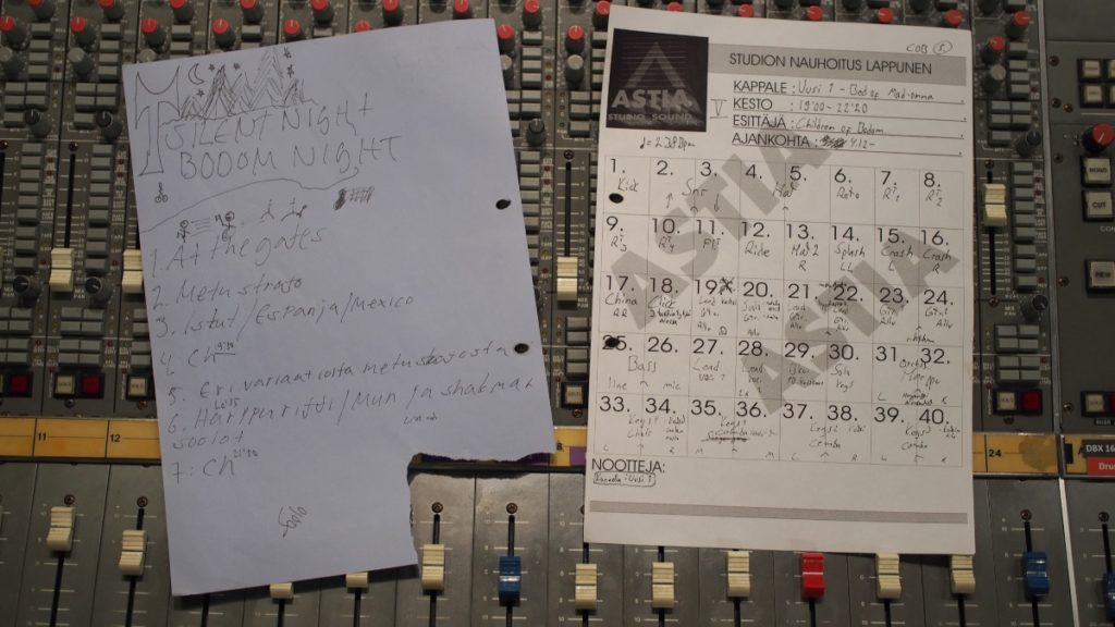 Hatebreeder –Silent Night Bodom Night structure map and track sheet
